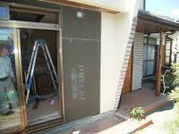 耐震工事 窓移動、壁増設